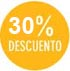 30% descuento