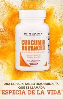 cúrcuma Curcumin Advanced Dr Mercola