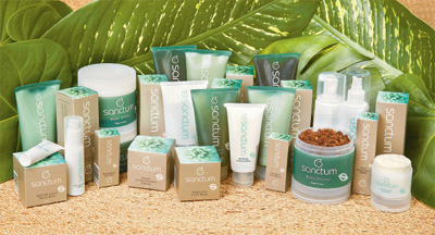 línea de belleza e higiene corporal Bio Sanctum