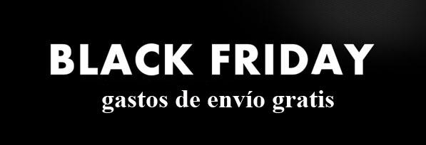 Black Friday, envíos gratis