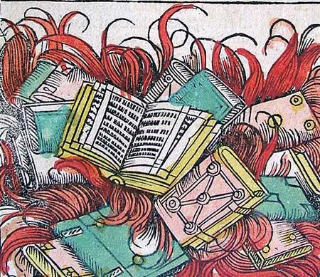 quema libros