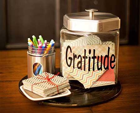 jarra de la gratitud