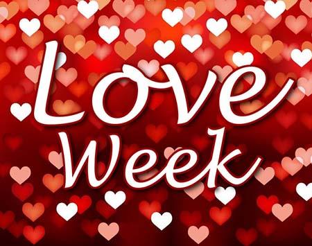 San Valentín week