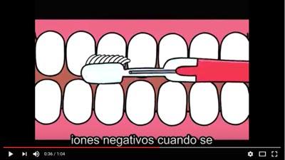 video cepillo iónico Soladey