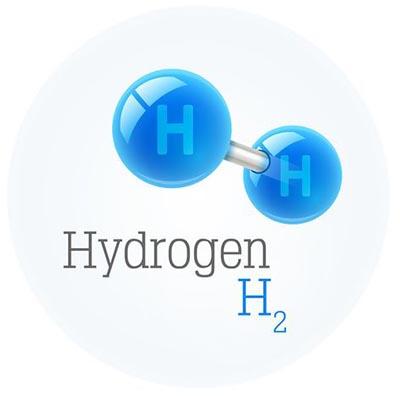 molécula hidrógeno