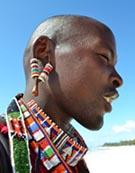 sandalias Earthing estilo masai