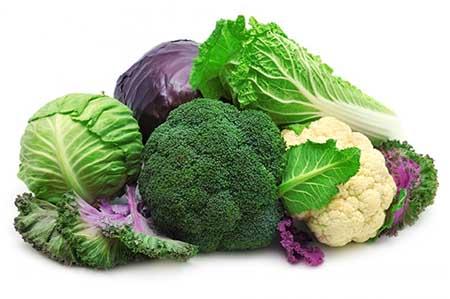 verduras crucíferas antiancerígenas